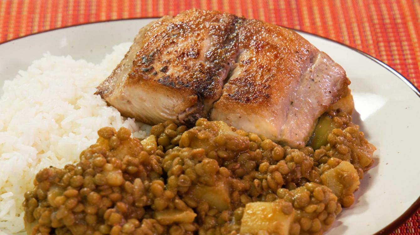 como preparar lentejas con pescado frito | Buenazo - La República