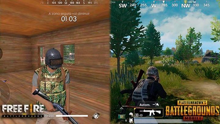 Free Fire Vs Pubg Cuál El Mejor Juego Gratis Para Celular Battle Royale Fotos Video La República