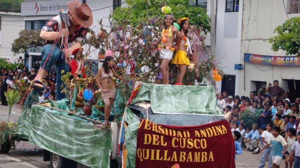Carnaval de Quillabamba: empezó la colorida celebración