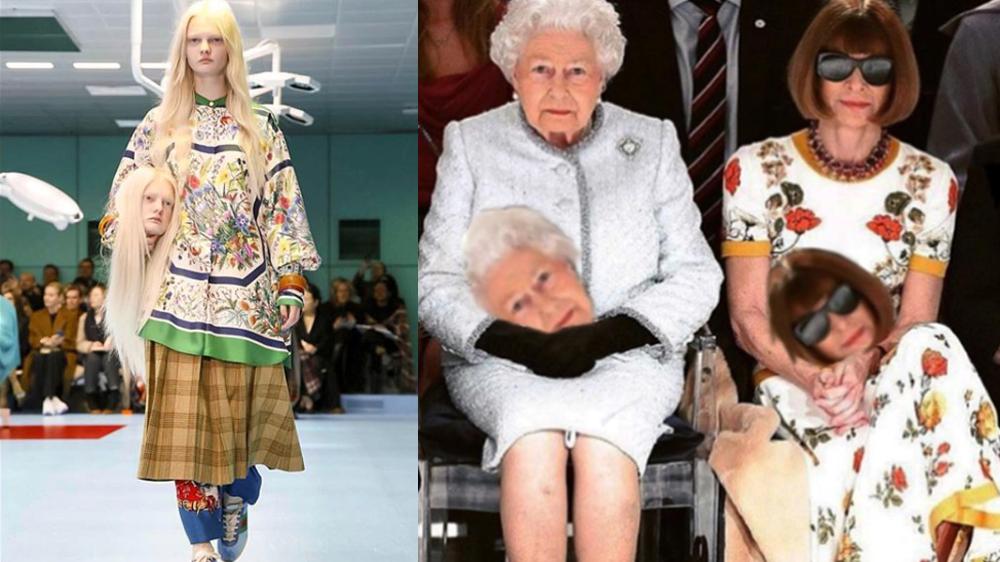 c9ca225c8c Instagram: #GucciChallenge, el nuevo reto viral que se burla de la moda [ FOTOS]