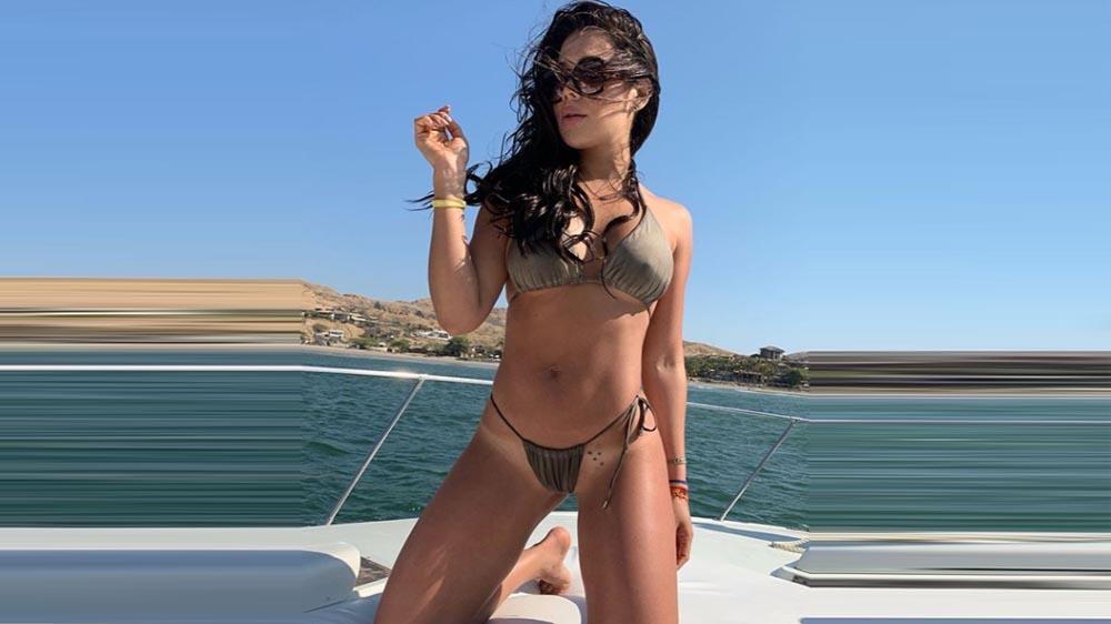 Alexandra Mendez Instagram: la 'Chama' comparte posa sexy en bikini y usuaria se burla de su papada   Insta   Fotos y video   La República
