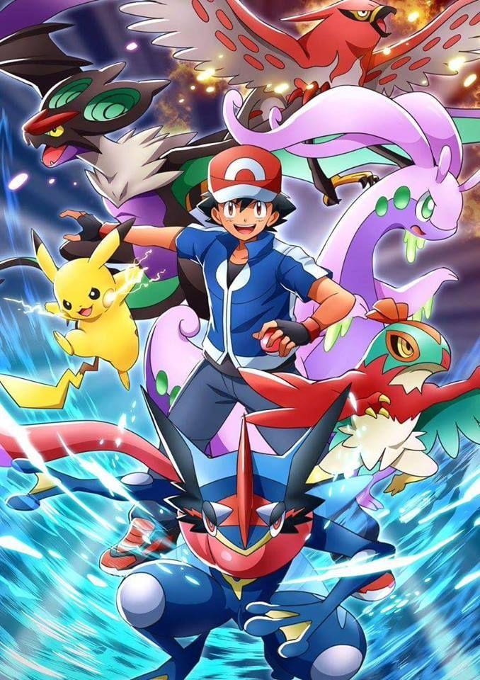 Pokemon final de liga Alola: Ash vs Gladio ¿Cuántas ligas