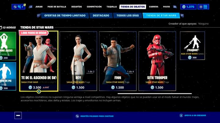 Fortnite A Qué Hora Es El Evento De Fortnite X Star Wars Temporada 11 En Perú España Y México Video En Vivo Hora Peruana La República