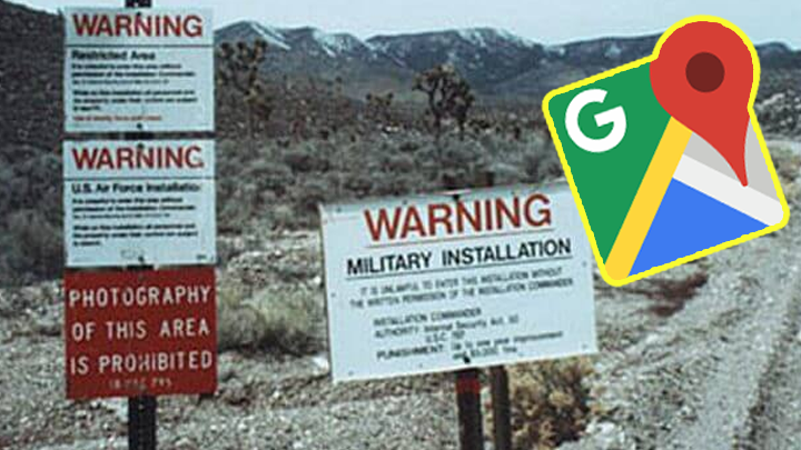 Google Maps: Travel through Area 51, zoom in and discover ... on large map of united states, interstate map of united states, google street view privacy concerns, competition of google street view, driving map of united states, google search, google street view in latin america, printable map of united states, google translate, google texas map, road map of united states, google street view, map of northeastern united states, satellite map of united states, blue map of united states, satellite imagery united states, travel map of united states, printable map eastern united states, google us map with states, google earth, driving directions united states, google street view in oceania, google street view in asia, google street view in africa, google street view in europe, craigslist united states, online map of united states, google world map,